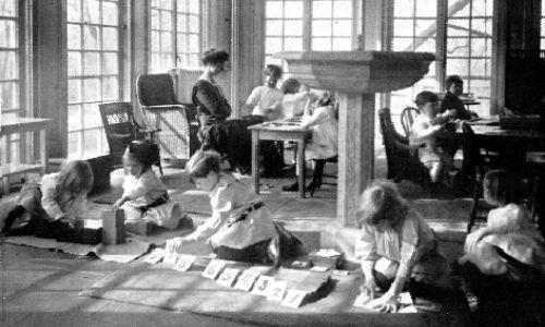 primera casa de niños montessori