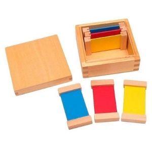 caja de color montessori 1