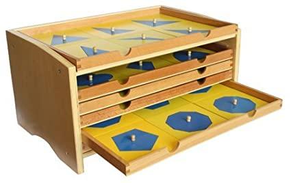 gabinete figuras montessori