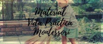 vida practica materiales montessori