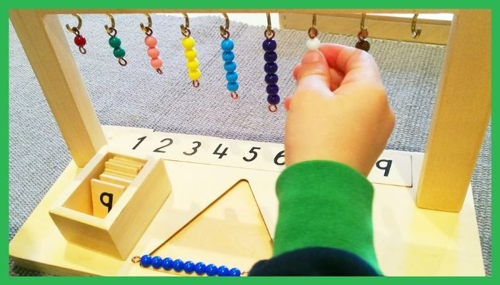 area matematicas montessori