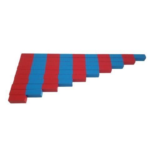 barras numericas montessori