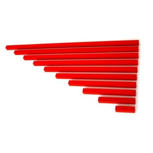 barras rojas montessori